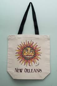 NEW! Louisiana Sunshine Canvas Tote