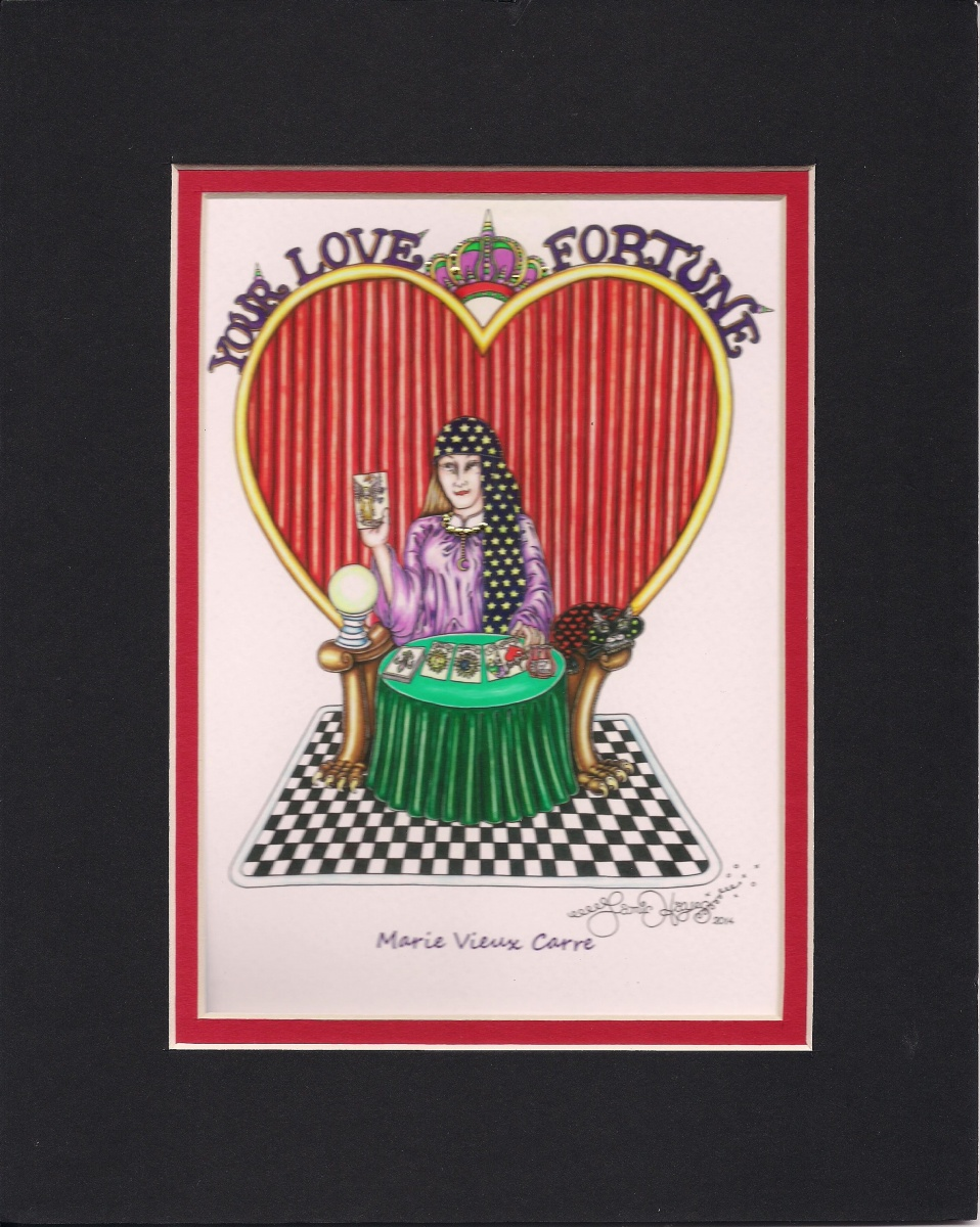 New Orleans Fortune Teller Matted 8
