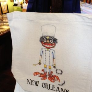 NEW! NEW ORLEANS LOBSTER CHEF Canvas Tote