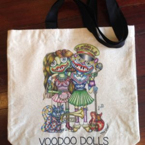 Voodoo Dolls Canvas Tote