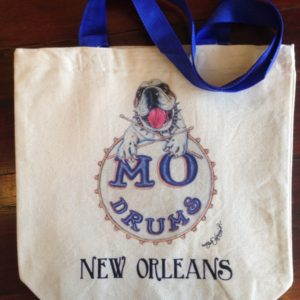 Mo Drums Canvas Tote