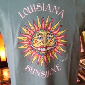 Louisiana Sunshine Crew Neck T-shirt, Choose your shirt color!