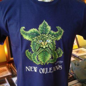 Greenman Crew Neck 100% Cotton T-shirt, Choose your shirt color!