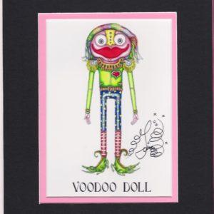 Voodoo Doll Boy 8″ x 10″ Fine Art Giclee, signed