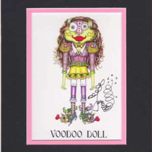 Voodoo Doll 8″ x 10″ Fine Art Giclee, signed