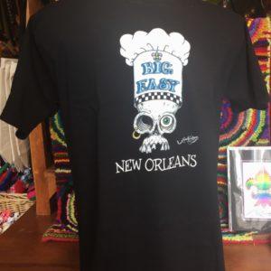 Big Easy Chef Unisex Crew Neck 100% cotton T-shirt, Choose your color!