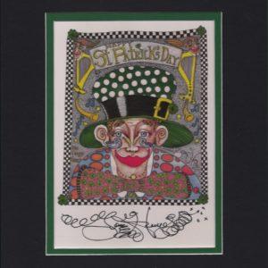 Paddy O'Shea 8″ x 10″ Matted Fine Art Giclee, signed