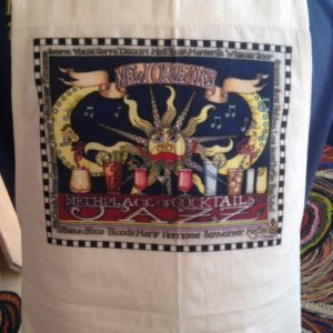 Birthplace of Cocktails and Jazz 100% cotton Apron