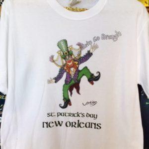St. Patrick's Day Crew Neck 100% cotton T-shirt, Choose your color!