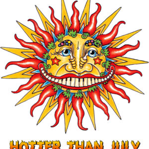"""Hotter Than July"" Louisiana Sunshine Limited Edition Fine Art Giclee, signed and remarqued 12 X 16"