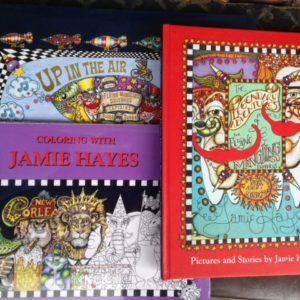 Set of all 3 books by Jamie Hayes, signed, for kids of all ages